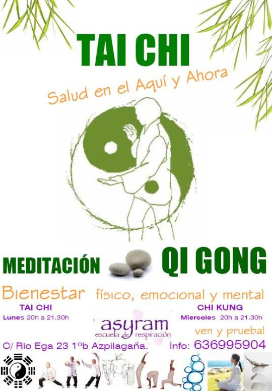 imagen Cartel Taichi QiGong ASYRAM