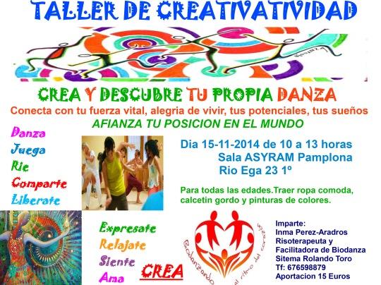 Taller de creatividad Pamplona